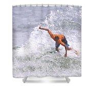 Good Surf Shower Curtain