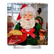 Good Time Santa Shower Curtain