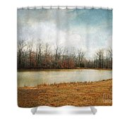 Goodbye Autumn Shower Curtain by Jai Johnson