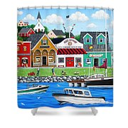 Goodies By The Sea Shower Curtain