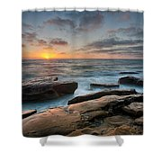 Goodnight Windnsea Shower Curtain