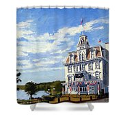 Goodspeed Opera House East Haddam Connecticut Shower Curtain