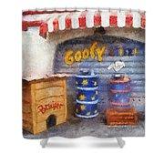 Goofy Water Disneyland Toontown Photo Art 02 Shower Curtain