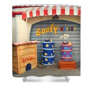 Goofy Water Disneyland Toontown Shower Curtain
