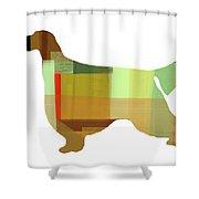 Gordon Setter Shower Curtain by Naxart Studio