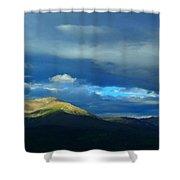 Gore Range Summer Shower Curtain