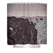 Gorge Shower Curtain