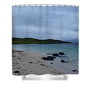Gorgeous Coral Beach On Skye In Scotland Shower Curtain