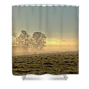 Gorgeous Morning On The Farm Shower Curtain