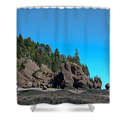 Gorgeous Rock Formations Shower Curtain