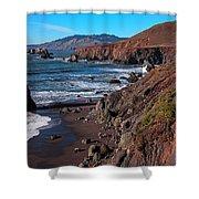 Gorgeous Sonoma Coast Shower Curtain