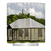 Goring Ave Cottage Shower Curtain