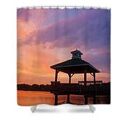 Gorton Pond Beauty Warwick Rhode Island Shower Curtain