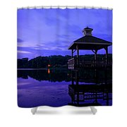 Gorton Pond Rhode Island Shower Curtain