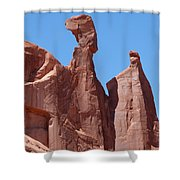 Gossips At Arches National Park Shower Curtain