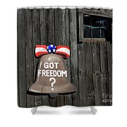 Got Freedom Shower Curtain