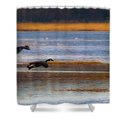 Got Your Back Shower Curtain