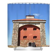 Gothenburg Fortress 07 Shower Curtain