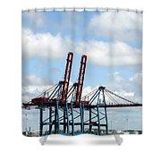 Gothenburg Harbour 08 Shower Curtain