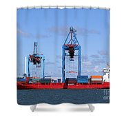 Gothenburg Harbour 09 Shower Curtain
