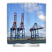 Gothenburg Harbour 12 Shower Curtain