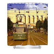 Gothenburg Tram 04 Shower Curtain