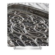 Milan Gothic Cathedral Apse Window Shower Curtain