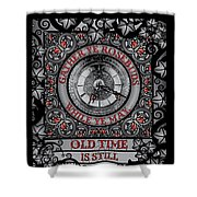 Gothic Celtic Impermanence Shower Curtain