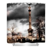 Gothic Clouds Shower Curtain
