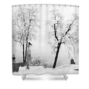 Gothic Lullaby Shower Curtain