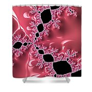 Gothic Pink Shower Curtain