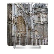 Gothic Splendor Of Spain Shower Curtain