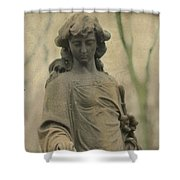 Gothic Stone Shower Curtain