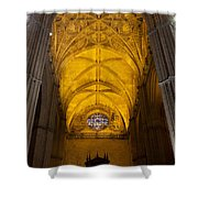 Gothic Vault Of The Seville Cathedral Shower Curtain