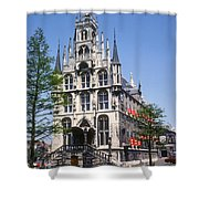 Gouda City Hall Shower Curtain