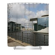 Government Building And Spree Shower Curtain