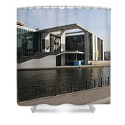 Government Building  Berlin  Shower Curtain