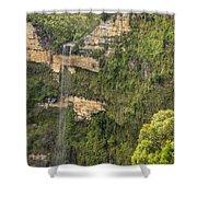Govetts Leap Falls Shower Curtain