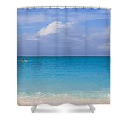 One And The Sea Shower Curtain