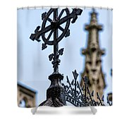 Grace Church Shower Curtain