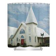 Grace Church Shower Curtain