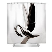 Grace In Chrome 2 Shower Curtain
