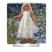 Grace In The Fairy Garden Shower Curtain