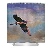 Grace Of The Wild Shower Curtain