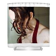 Grace - Self Portrait Shower Curtain