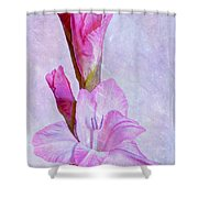 Grace With Textures Shower Curtain