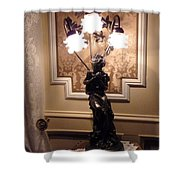Graceful Lamp Shower Curtain