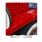 Graceful Lines. Shower Curtain