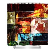 Gracefull  Shower Curtain