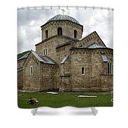 Gradac Monastery Shower Curtain